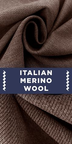 Italian Merino Wool Covert Twill in Light Brown (Made in Italy -- Virgin Merino Wool) Different Types Of Fabric, Kinds Of Fabric, B And J Fabrics, Indian Fabric, Fabric Names, Warm Outfits, Fabric Manipulation, Fashion Fabric, Fall Looks