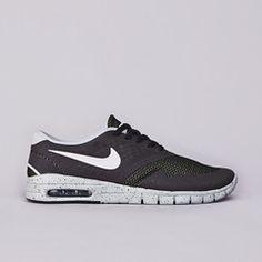Nike SB Eric Koston 2 Max Black / White - Base Grey - Venom Green