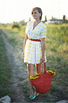 Summer <3 Summer 3, Straw Bag, Style Inspiration, My Style, Model, Blog, Outfits, Vintage, Ideas
