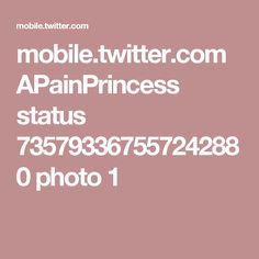 mobile.twitter.com APainPrincess status 735793367557242880 photo 1