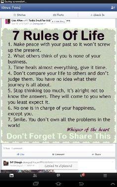 7 rules.