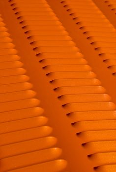 Orange | Arancio | Oranje | オレンジ | Colour | Texture | Style | Form | Louvered hood on a custom hot rod.