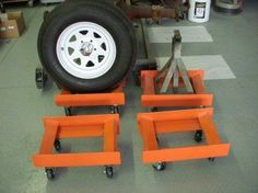 Car dollies on casters - possible use of my material (cast polyamide which I can produce) for the casters. My contact: tatjana.alic@windowslive.com