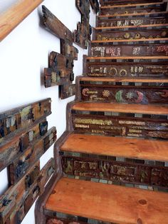 Unusual Home Staircase Project   Flickr - Photo Sharing!
