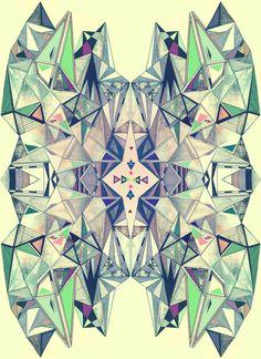 KALEIDOSCOPE, reflected drawing