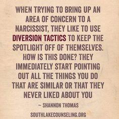 Diversion Tactics #ToxicParenting