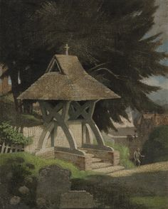 Bertram Nicholls - A Lynch Gate, Sussex