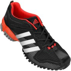 new product e7963 7bcb0 Tênis Adidas Aresta Masculino Preto   Vermelho