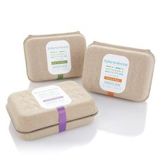 Soap & Water recently launched a socially-conscious brand with a collection of body and bath products. The scented bar collection is packaged in SPI's GreenKraft clamshell with a custom water drop debossed on the top. This project is a great example of how to incorporate a semi-custom design into a product line. Visit www.soapandwater.com