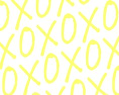 XOXO Print - Linky Party - Its Overflowing