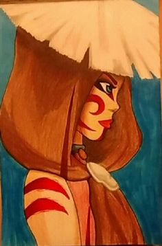 The Painted Lady from Avatar the Last Airbender. By: Lauryn Sebrey
