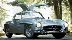 This rare alloy-bodied 1955 Mercedes-Benz 300SL Gullwing sold for 4.62 million at a Gooding & Company auction in January.