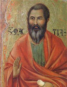 Apostle Matthias - Duccio