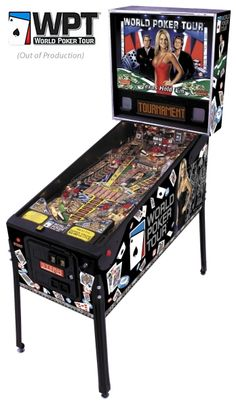 WORLD POKER TOUR™ pinball from Stern Pinball. A Stern table that I really like but is so hard to find.