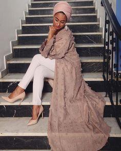The most trending hijab items – Just Trendy Girls Dubai Fashion, Abaya Fashion, Modest Fashion, Fashion Outfits, Fashion Trends, Muslim Women Fashion, Islamic Fashion, Modest Wear, Modest Outfits
