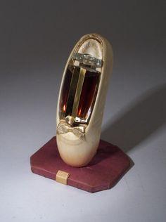 """Ballerina,"" a perfume bottle for Marie Earl 1942"