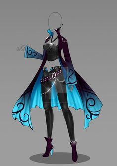 Dessin vetement Diy Crafts For Home cool diy crafts for the home Drawing Anime Clothes, Dress Drawing, Fashion Design Drawings, Fashion Sketches, Character Outfits, Character Art, Character Costumes, Kleidung Design, Hero Costumes