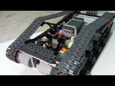 How to build a RC Lego tank - YouTube