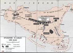 Operation Husky 1943, pin by Paolo Marzioli