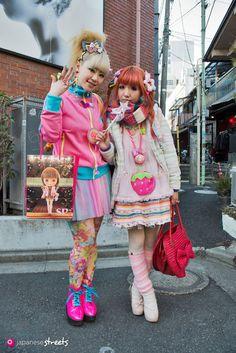 130127-3977: Japanese street fashion in Harajuku, Tokyo.