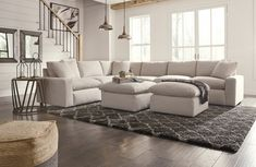 in by Ashley Furniture in Tulsa, OK - Savesto - Ivory 2 Piece Sectional. Living Room Sets, Home Living Room, Living Room Decor, Cozy Living, Bedroom Decor, White Sectional, Macys Sectional, Comfy Sectional, Cozy Couch