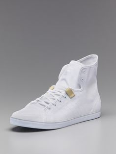 Core Mid Top Sneakers by Adidas SLVR at Gilt