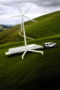 Portable 50kW Wind Turbine Unveiled (Video) - CleanTechnica