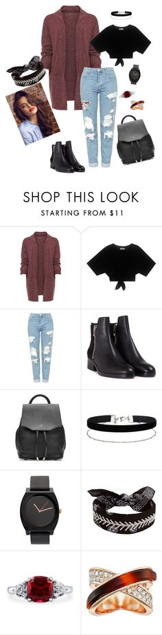 """""""Untitled #8"""" by anastaslepchenko ❤ liked on Polyvore featuring WearAll, Topshop, 3.1 Phillip Lim, rag & bone, Miss Selfridge, Fallon, BERRICLE and GUESS"""