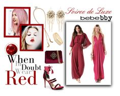Soirée de Luxe with bebe Holiday: Contest Entry by istyled on Polyvore featuring polyvore, fashion, style, Bebe, women's clothing, women's fashion, women, female, woman, misses and juniors