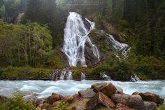 Schleierfall Waterfall, Austria by Maria Draper on Idaho, Austria, Around The Worlds, Earth, Beautiful, Waterfalls, Rivers, Places, Outdoor