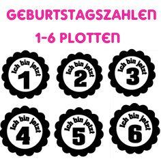Plotterdateien - Ich bin jetzt 1 (2, 3, ...)