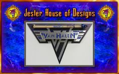 Van Halen Custom Drumstick wall Display