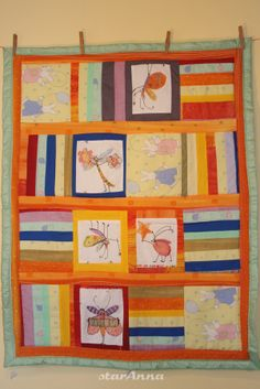 Quilts, Blanket, Frame, Home Decor, Scrappy Quilts, Comforters, Blankets, Decoration Home, Quilt Sets