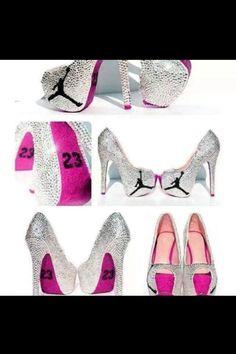 Jordan heels !!