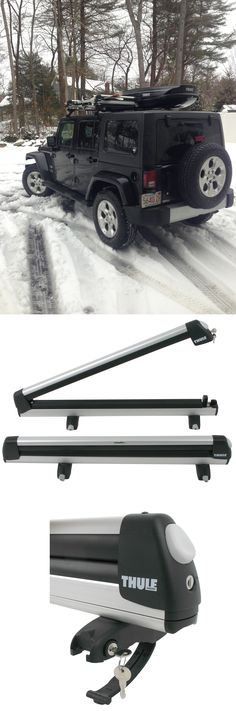 Yakima Big Powderhound Ski Amp Snowboard Rack Jeep Parts