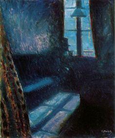 E. Munch, Notte a St. Cloud, 1890