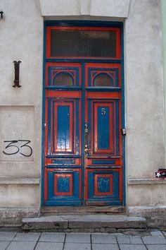 Door from Old Town of Tallinn