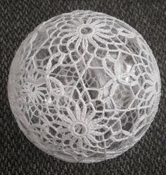 Christmas Baubles, Christmas Time, Crochet Ball, Wedding Decorations, Christmas Decorations, Christmas Crochet Patterns, Lace Decor, Unique Gifts, Handmade Gifts