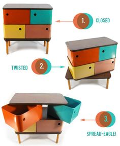 1950s children's furniture by Henry Glass - why doesn't anyone make stuff like this anymore?!