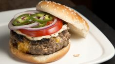 Mario's How-To Makeover: Cheddar Scallion Pocket Burgers