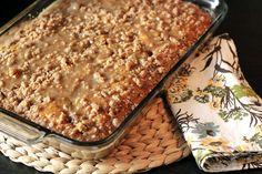 Pretty. Good. Food.: Pumpkin Coffee Cake with Brown Sugar Glaze