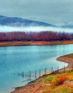 Plastira lake Seasons In The Sun, Rivers, Lakes, Greece, Mountains, Country, Nature, Painting, Travel