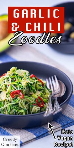 Looking for a healthy alternative to pasta and noodles? This Garlic & Chilli Courgetti is a perfect choice for you. This is an easy and super quick recipe that takes just minutes to make. The ingredients are courgettes, olive oil, garlic, red chili, salt and pepper. Make this healthy and tasty recipe with your family! #courgette #courgetterecipe #pasta #healthypasta #healthynoodles #noodles #tastyrecipe #healthyrecipe #healthy #vegan #vegetarian #quickrecipes #easyrecipes Quick Recipes, Gourmet Recipes, Vegan Recipes, Healthy Pastas, Healthy Desserts, Wendy House, Tasty Recipe, Red Chili, English Food
