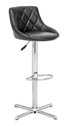 DEVILIN BAR CHAIR BLACK
