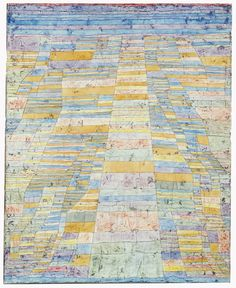 Framed Art Print: Primary Route and Bypasses, by Paul Klee : Kandinsky, Museum Ludwig, Paul Klee Art, Art Sur Toile, Famous Abstract Artists, Renzo Piano, Oil Painting Reproductions, Oeuvre D'art, Canvas Art Prints
