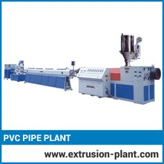 Pvc Pipe Plant  Now-a-days steel pipes are replaced with highly economic series of PVC pipes. It is highly demanded in industrial, commercial and domestic field. So, considering the demand of PVC pipes we have designed PVC pipe plants with high productivity.