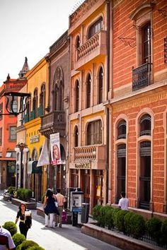 Centro histórico de San Luis Potosí, México.