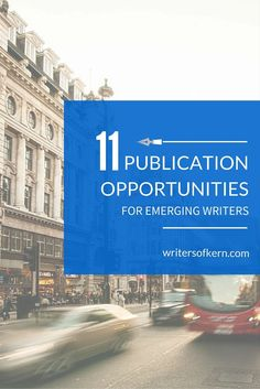 11 publication opportunity resources for new and aspiring writers | includes a searchable publications database