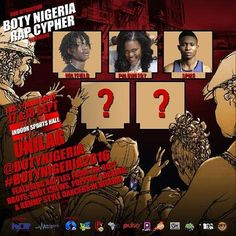 For yall Emcees who wanna show what youve got heres the chance to. 2 spots are left for the BOTY Nigeria Rap Cypher. To earn a spot upload your 45sec Freestyle rap video Tag @BOTYNigeria using the #BOTYNigeria2016 BOTY Nigeria will repost the video. The Emcees with highest likes get the spots! So starting start uploading your videos right now as winners will be announced on Sunday the 11th of September.  #BOTYNigeria2016
