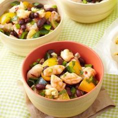 Zesty Shrimp & Black Bean Salad for Two Recipe